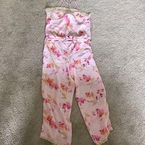 Gap Body camisole and pajama pant